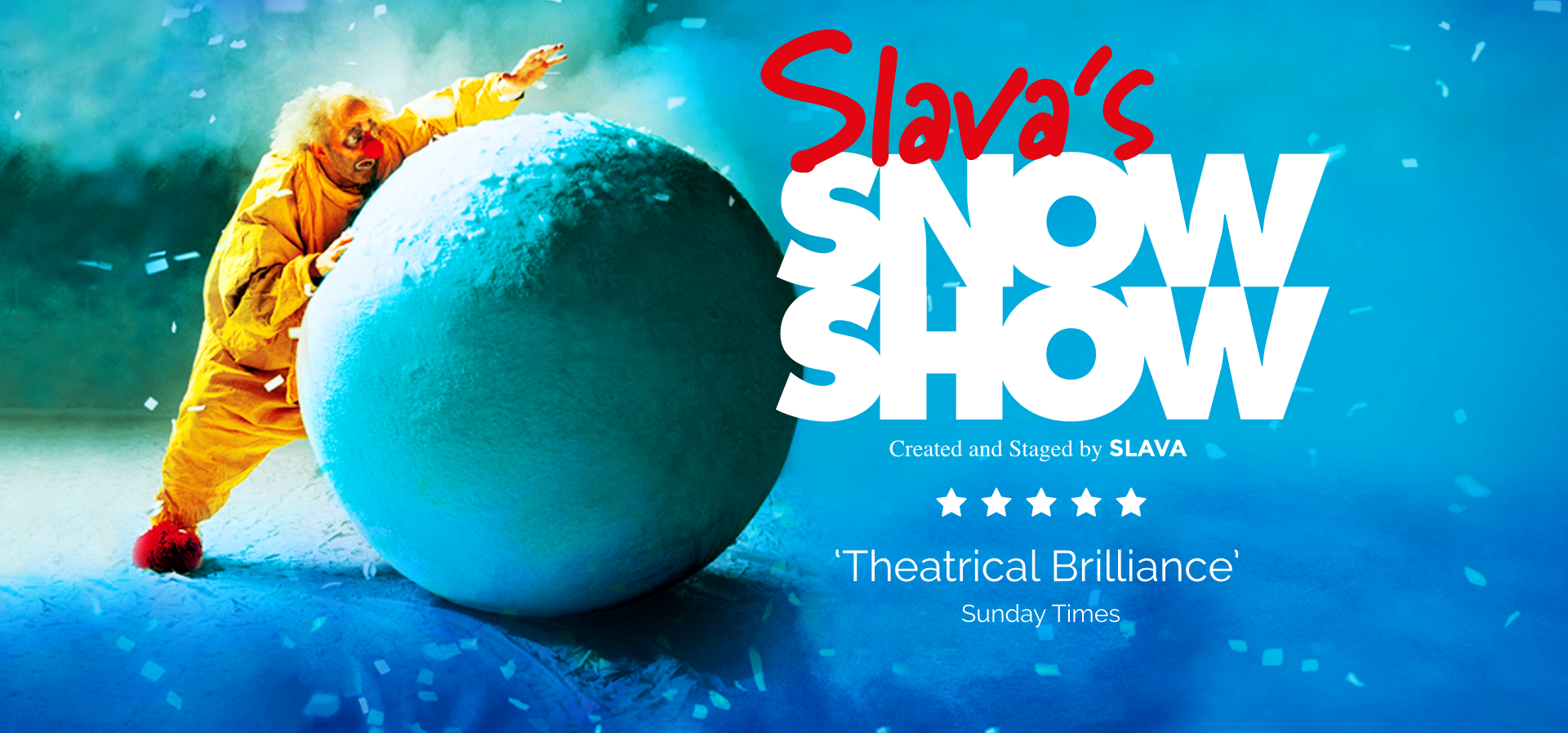 Slava's Snowshow at Stephen Sondheim Theater