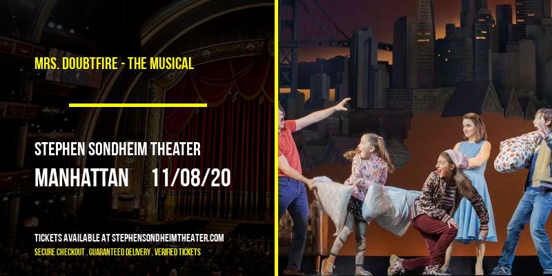 Mrs. Doubtfire - The Musical at Stephen Sondheim Theater